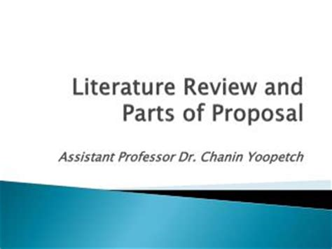 How to write research proposal for phd ppt